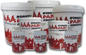 AAA Paint Products Paint cans